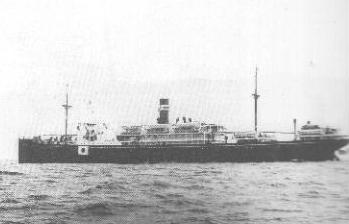 Montevideo Maru - an unmarked Japanese prison ship